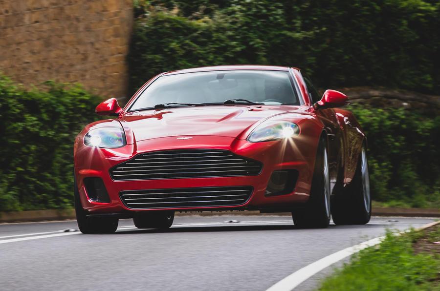 Callum Aston Martin Vanquish 25 first drive review - hero front