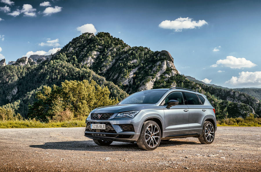 Cupra Ateca 2018 first drive review - static front