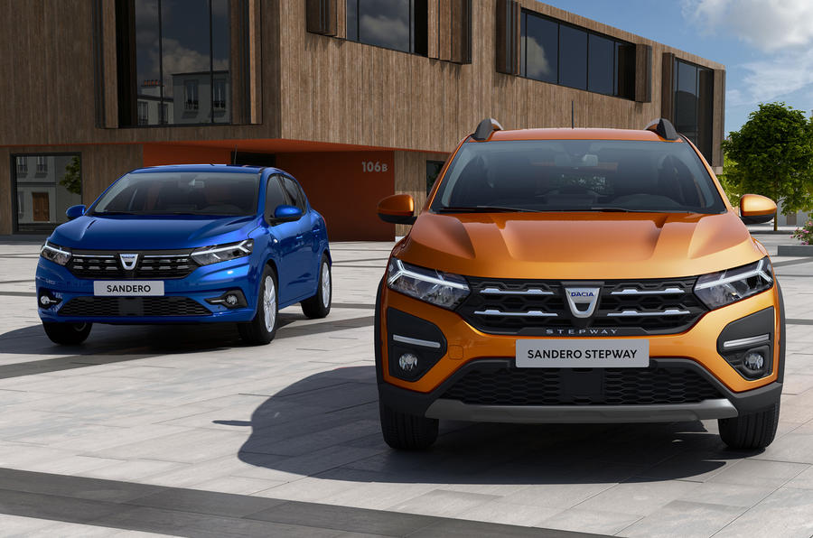 Dacia Sandero 2021 official images - lead