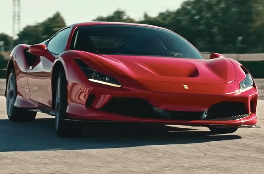 Ferrari F8 Tributo 2019 first ride review - hero front