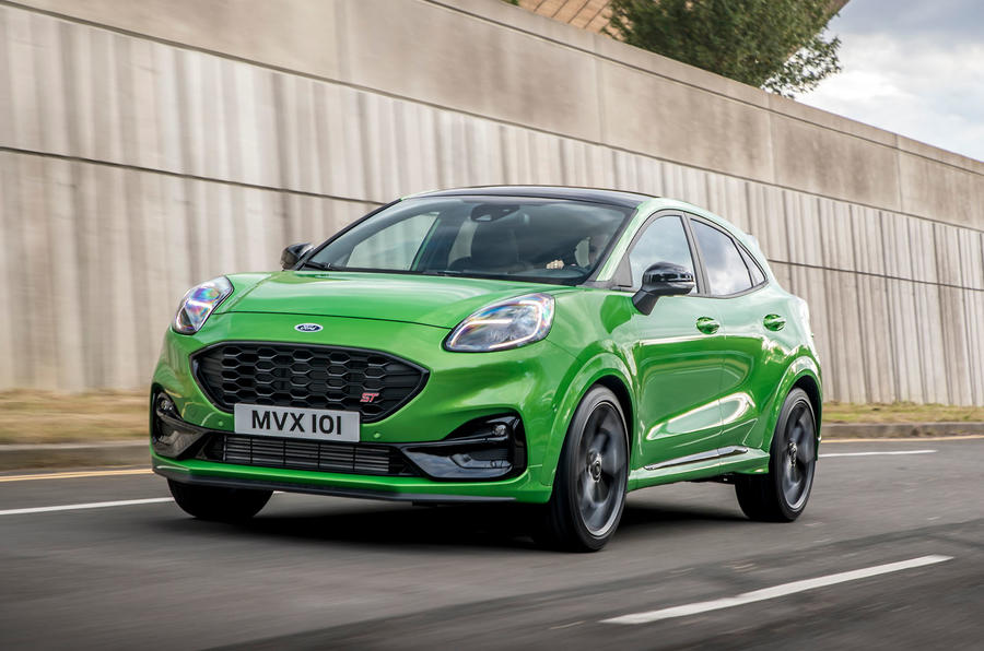Ford Puma ST official images - tracking front