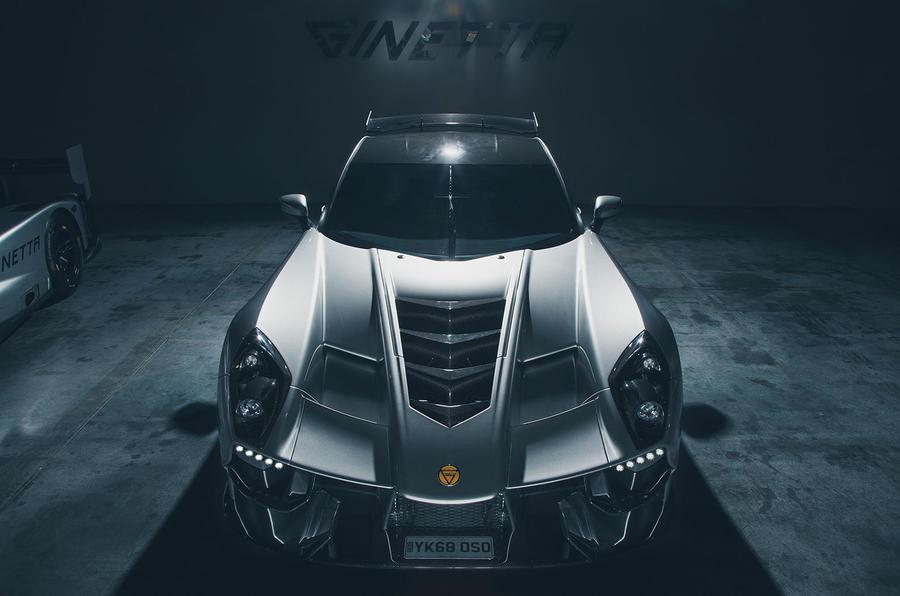 200mph ginetta akula supercar revealed