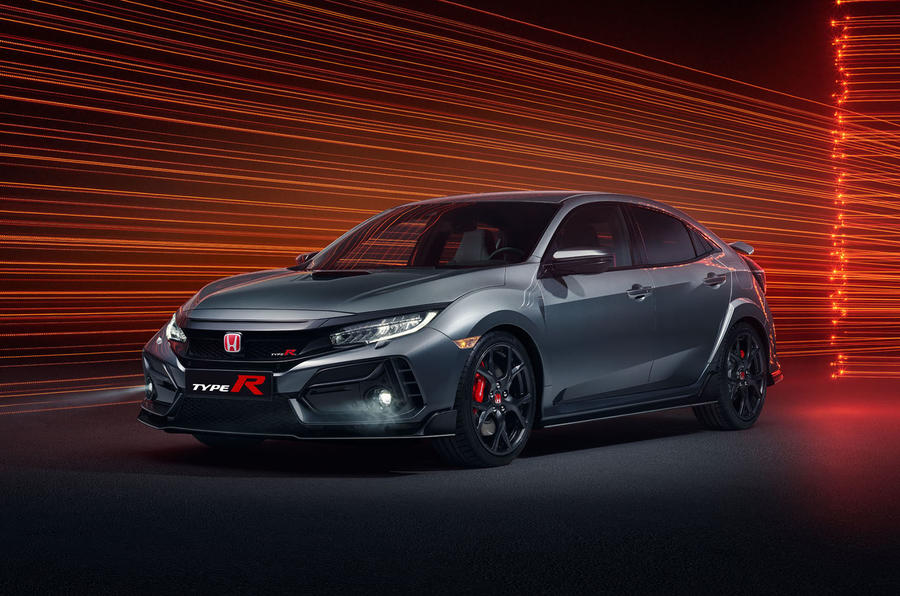Honda Civic Type R Sport Line 2020 official press photos - front