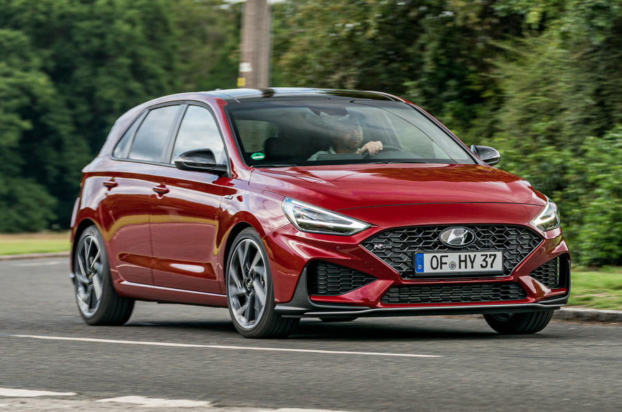 2020 Hyundai i30 N-Line prototype drive review - hero front