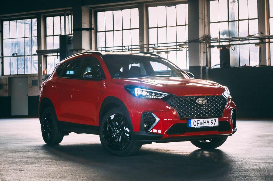 Hyundai Tucson N Line 2019 reveal - hero front