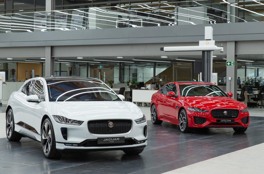 Jaguar Land Rover's Wolverhampton site in week-long Brexit shutdown