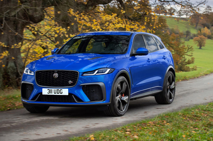 2021 jaguar f-pace svr brings new look and performance
