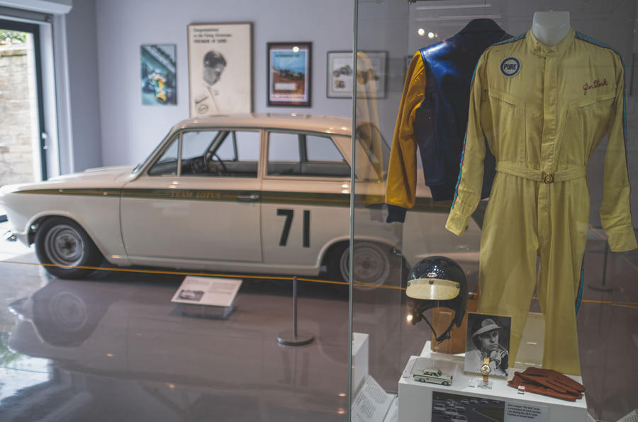 Jim Clark Museum preview day - Lotus Cortina