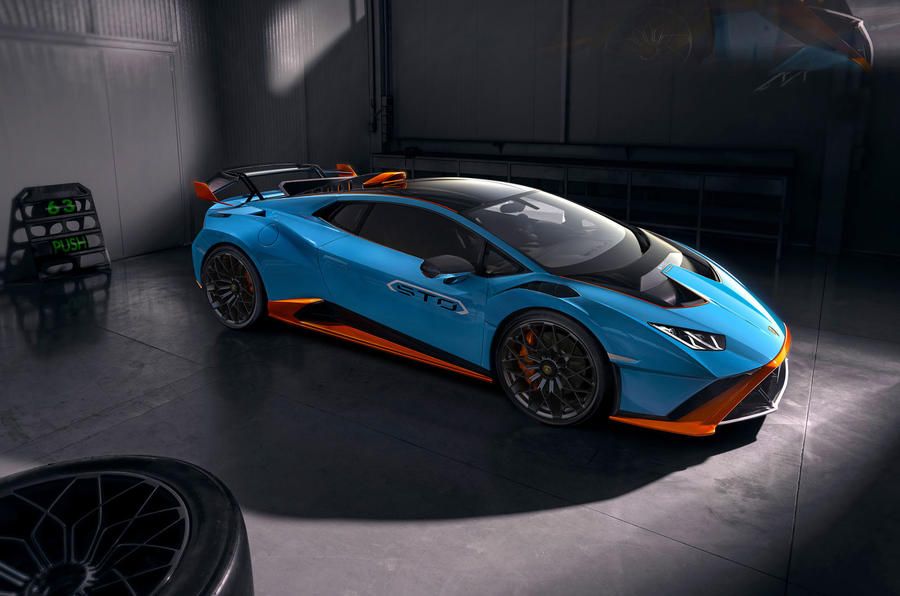 Lamborghini Huracan STO 2020 official images - front