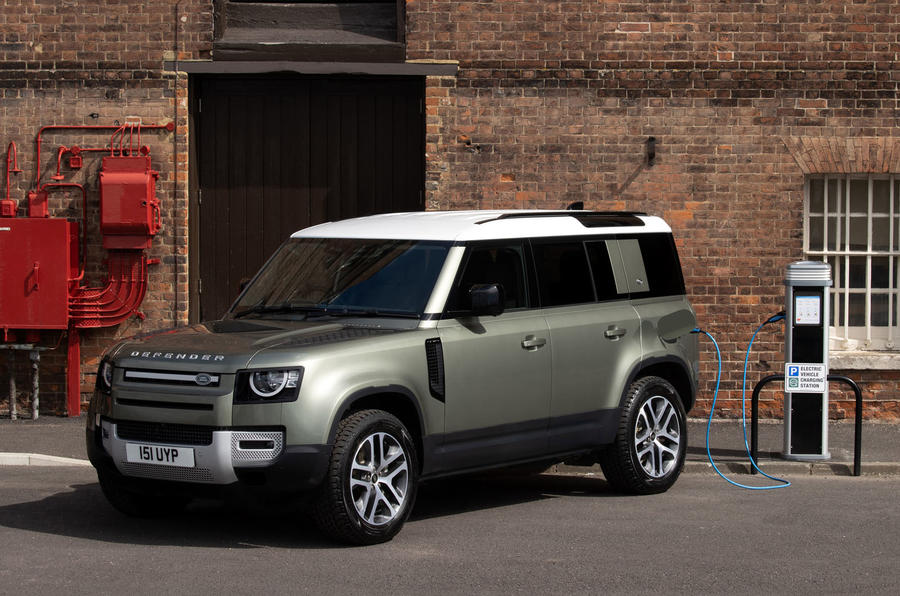 Land Rover Defender P400e official reveal - lead