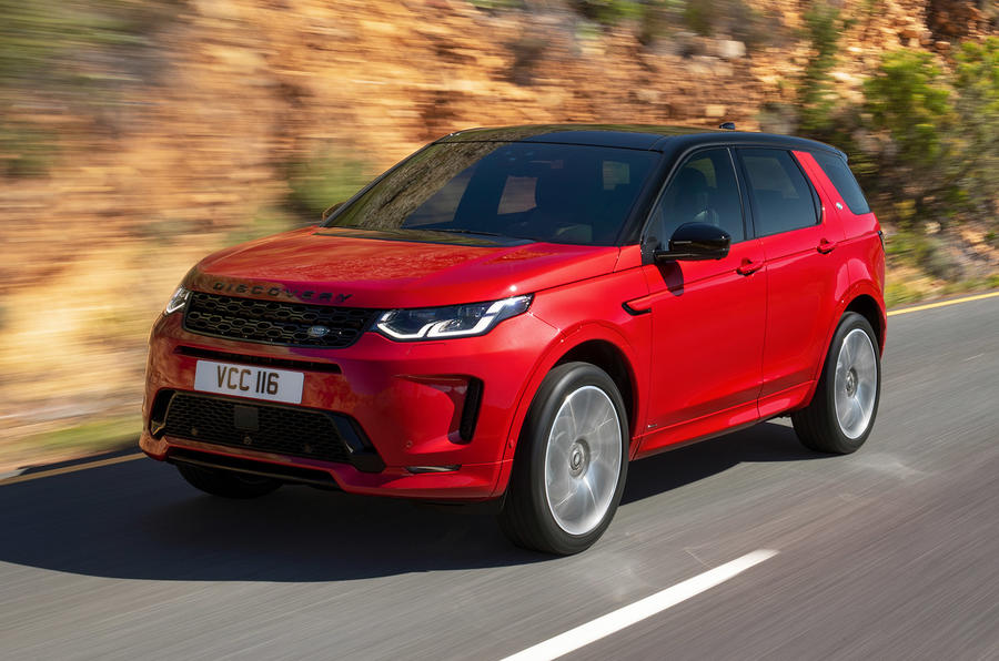 Land Rover Discovery Sport 2019 official reveal - hero front