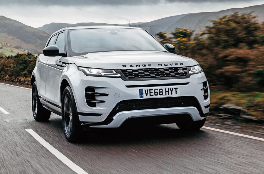 Difference Between Land Rover And Range Rover >> First Ride 2019 Land Rover Range Rover Evoque Autocar