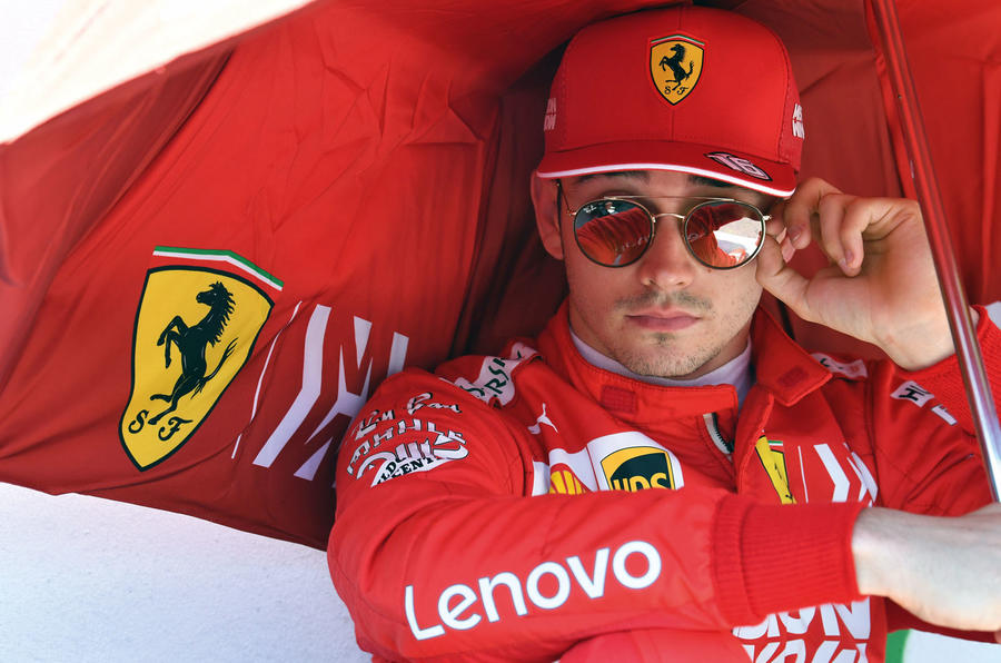 Charles Leclerc interview, 2019 British Grand Prix - lead