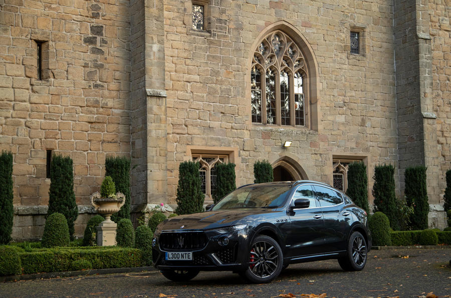 Maserati Levante GranSport V6 2018 first drive - static front
