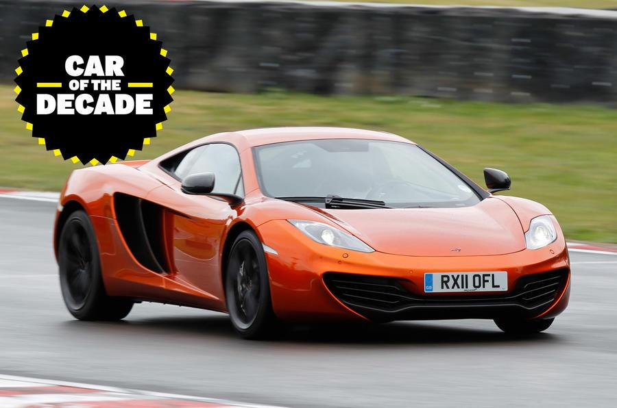 McLaren 12C - car of the decade - lead