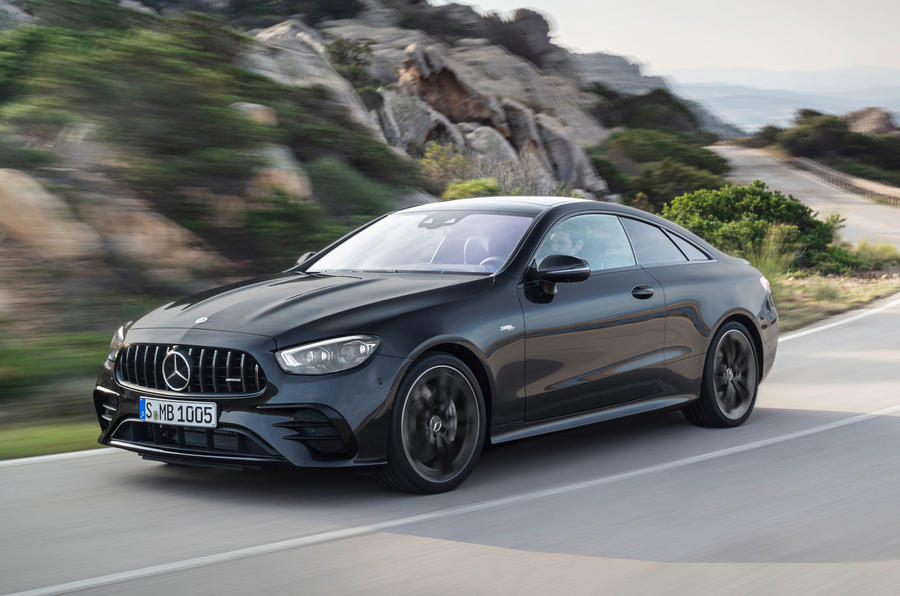 Mercedes-Benz E-Class coupe 2020 facelift - official images - front