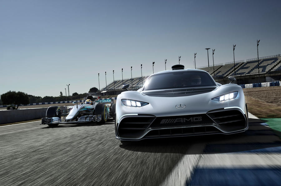 Mercedes F1 and project One