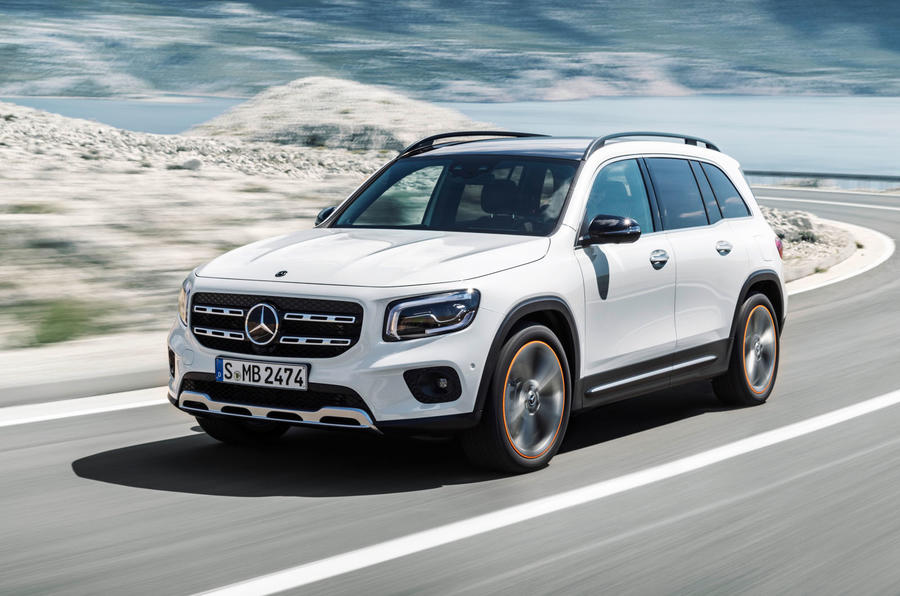 Mercedes-Benz GLB 2019 official reveal - hero front