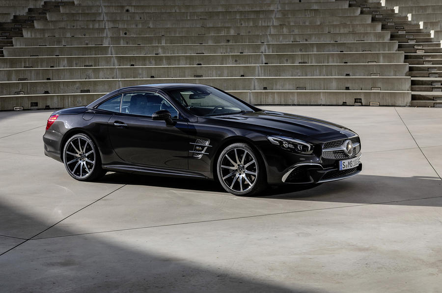 Mercedes SL Grand Edition official press - hero front
