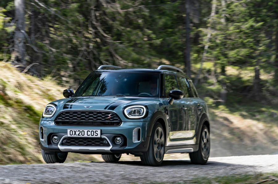 Mini Countryman 2020 facelift - official press images - hero front