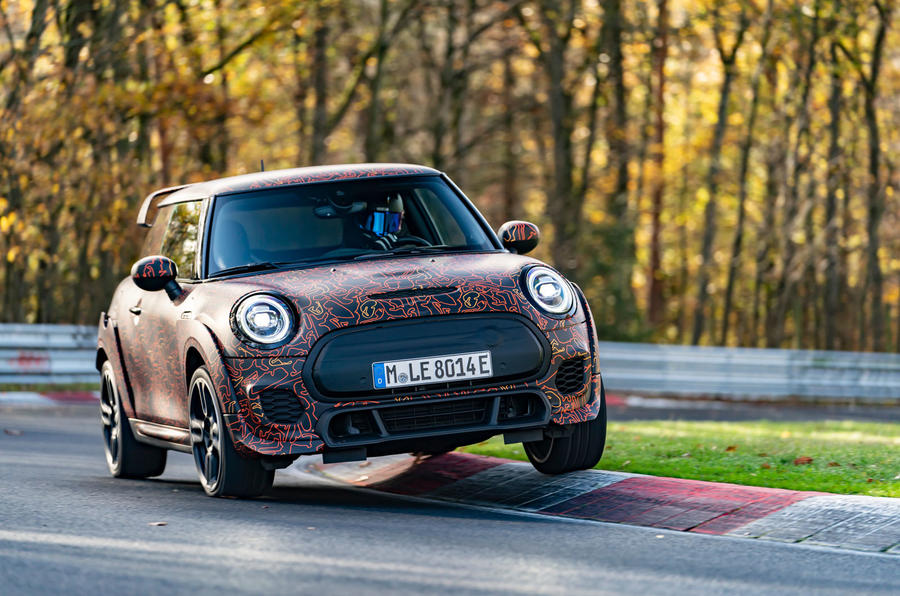 Mini JCW GPE prototype official images - front