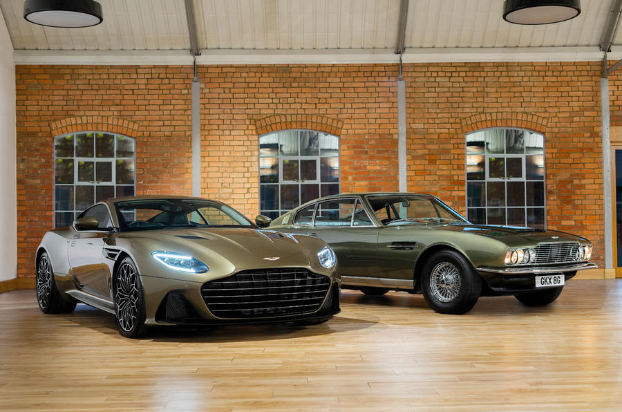 Aston Martin On Her Majesty's Secret Service Superleggera - hero