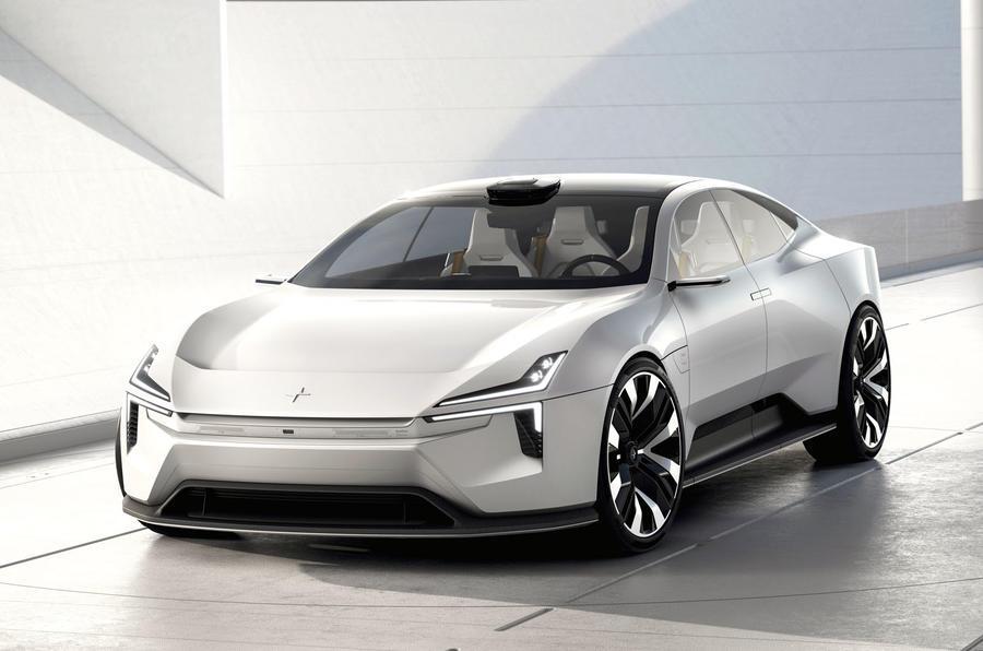 2020 Polestar Precept concept - static front