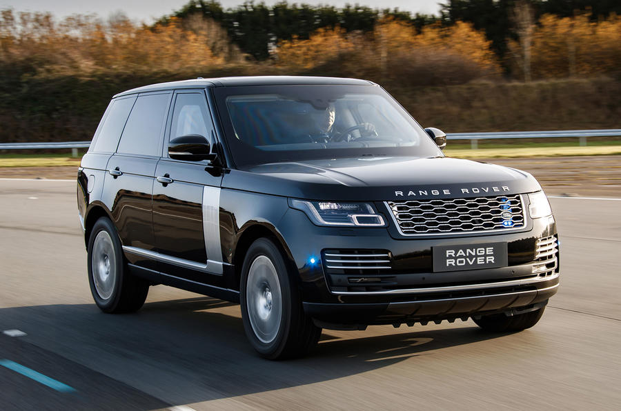 Armoured Range Rover Sentinel gets 375bhp supercharged V8 engine