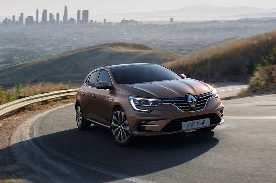 Renault megane 2020 refresh - hero front