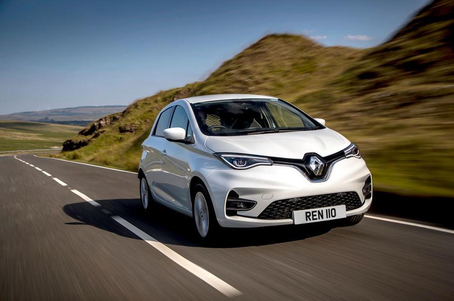 Renault Zoe van 2020 official images - hero front