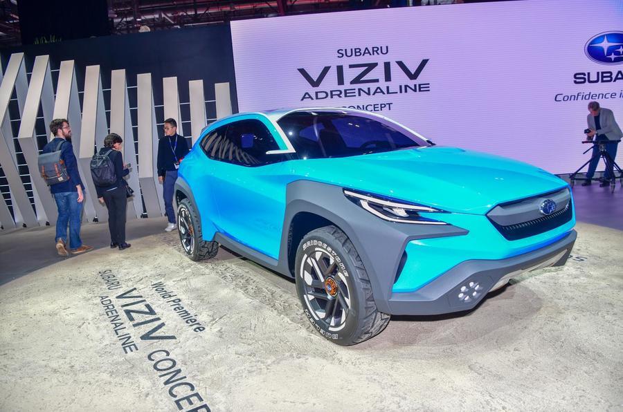 Subaru Viziv Adrenaline concept Geneva 2019 - front
