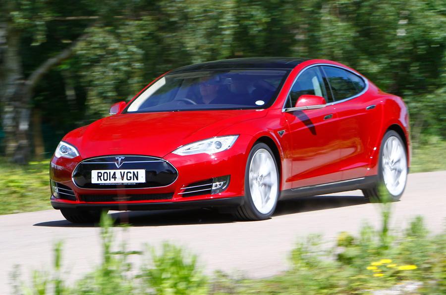 Tesla Model S road test rewind - hero front