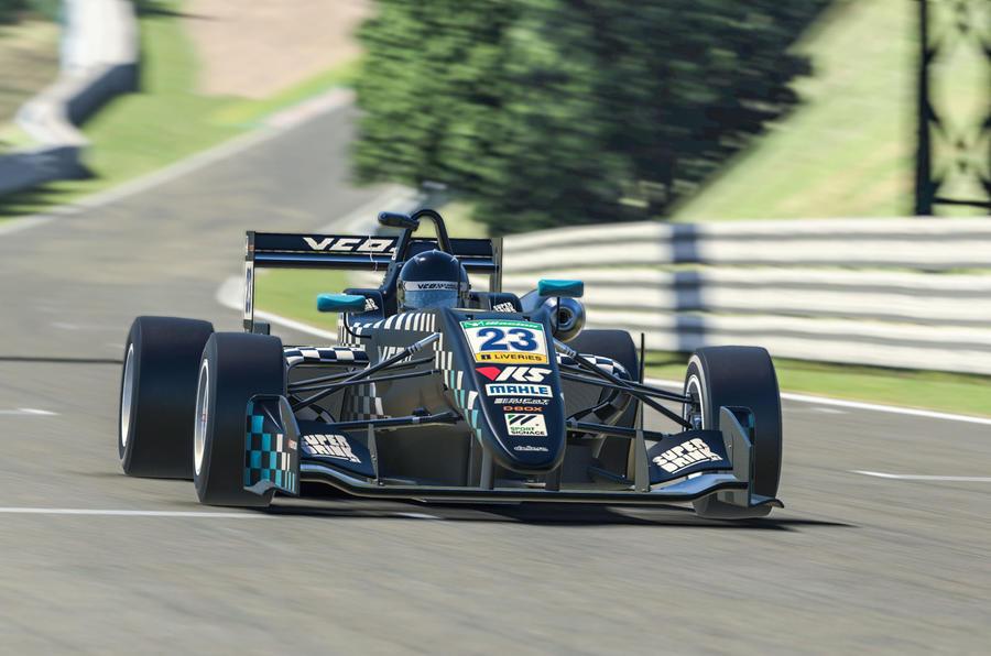 VCO proSIM racing series preseason - lead