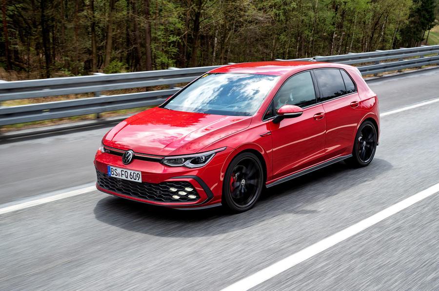 2020 Volkswagen Golf GTI first ride - hero front