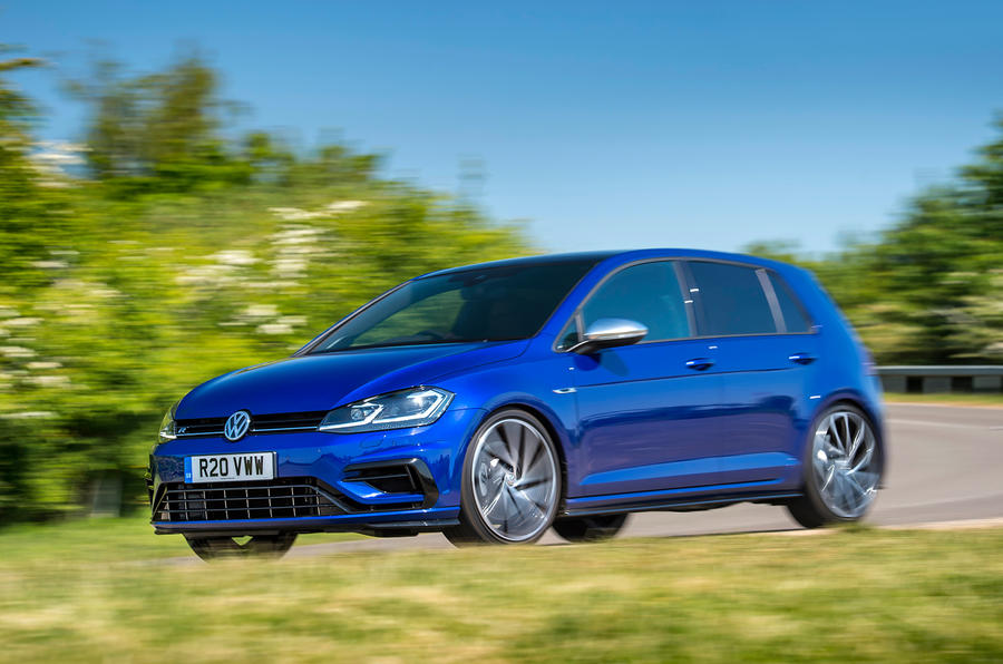 Volkswagen Golf R Performance Pack 2018 review action