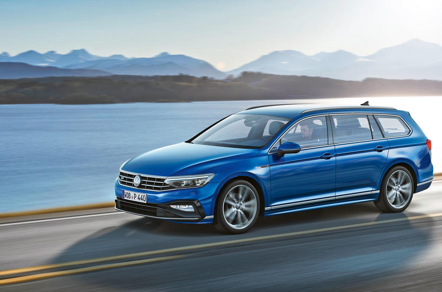 Volkswagen Passat 2019 press - front