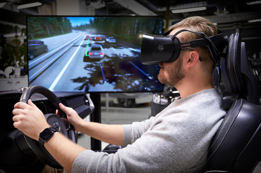 Volvo mixed reality simulator research - lead