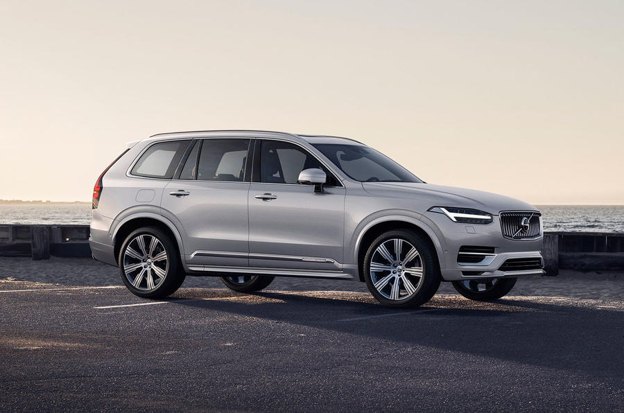 Facelifted Volvo XC90 gets new energy recovery system