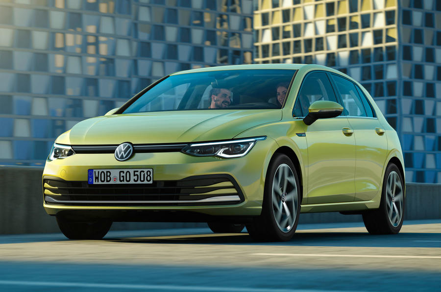 2020 Volkswagen Golf Mk8 official press - hero front