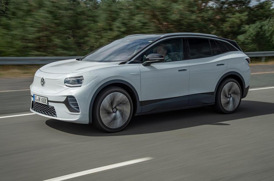 2021 Volkswagen ID 4 prototype drive - hero front
