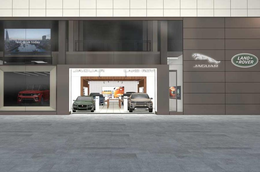 Jaguar Land rover dealership