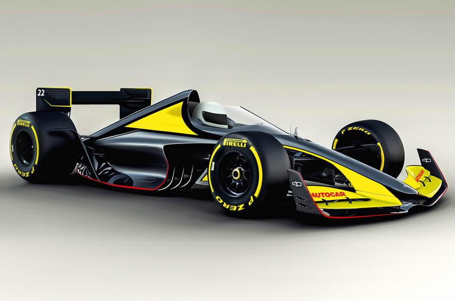 Autocar fixes Formula One - render