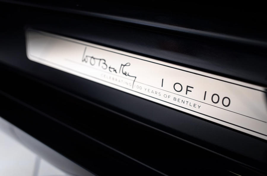 Bentley Mulsanne W.O Edition pays homage to founder's 1930 original