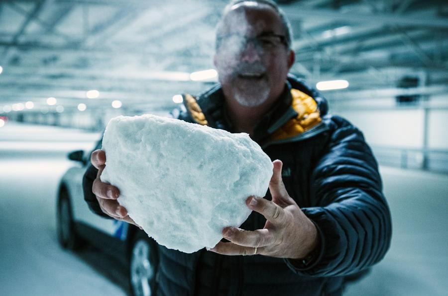 Ice chunk