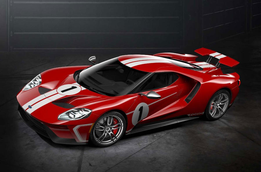 Ford GT '67 Heritage Edition Premieres In Monterey