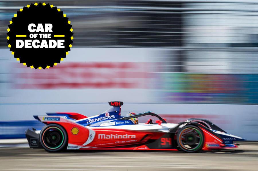 Formula E - car of the decade - panning