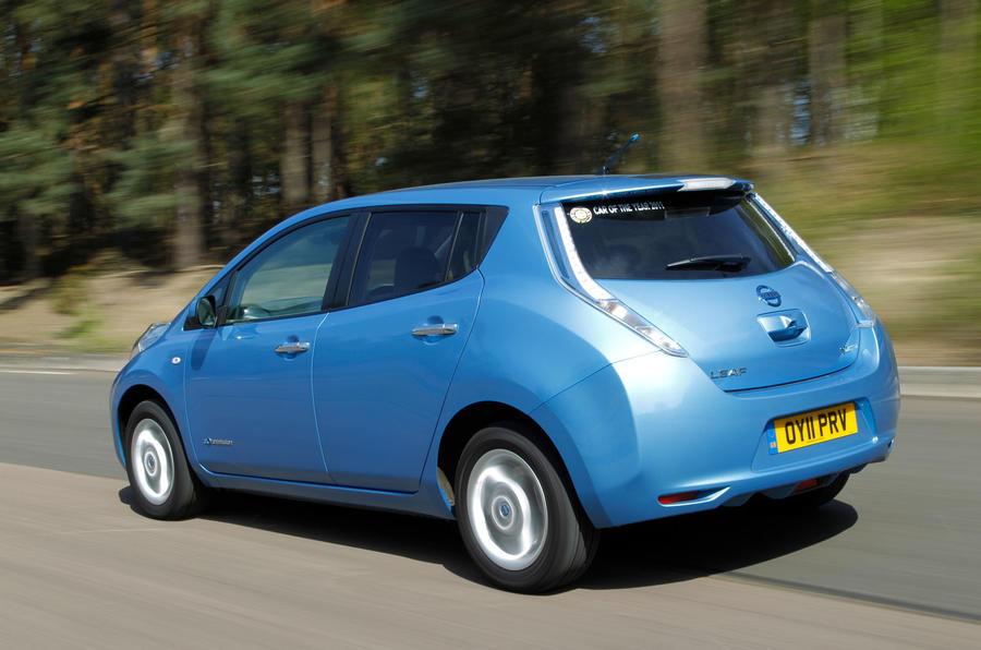 Nissan Leaf exterior