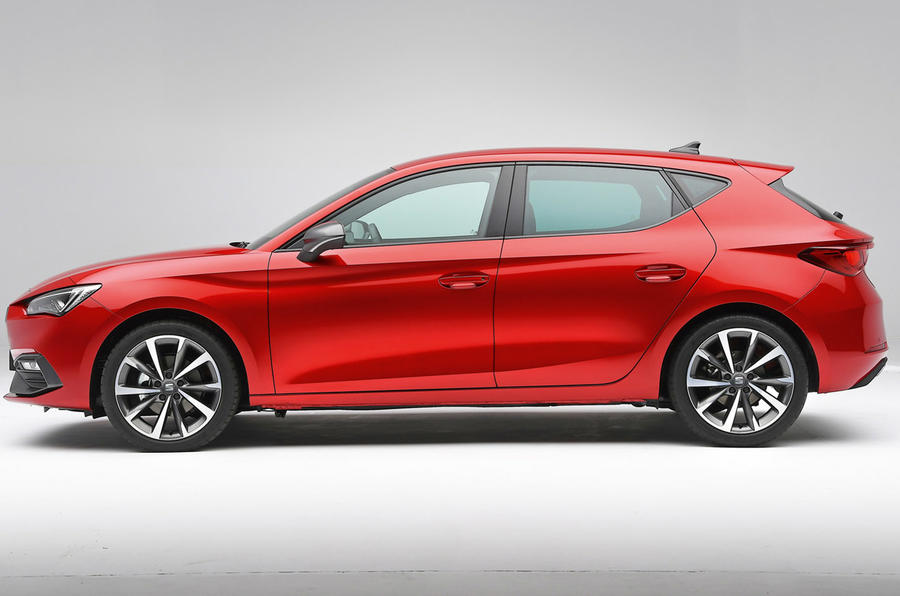 Seat Leon 2020 - stationary side