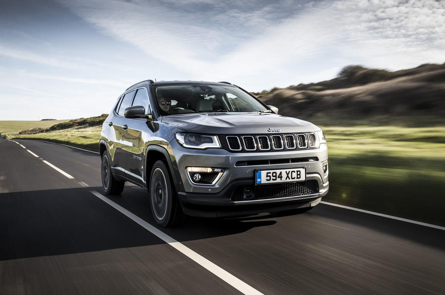Jeep Compass 2018 UK review hero front