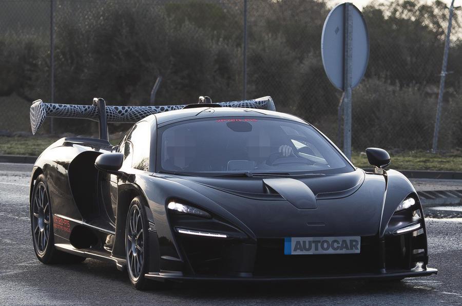 McLaren Senna: exclusive new pictures of 789bhp hypercar testing
